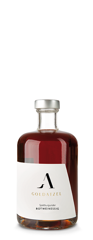 Goldatzel Rotweinessig